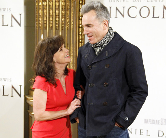 Daniel Day-Lewis y Sally Field