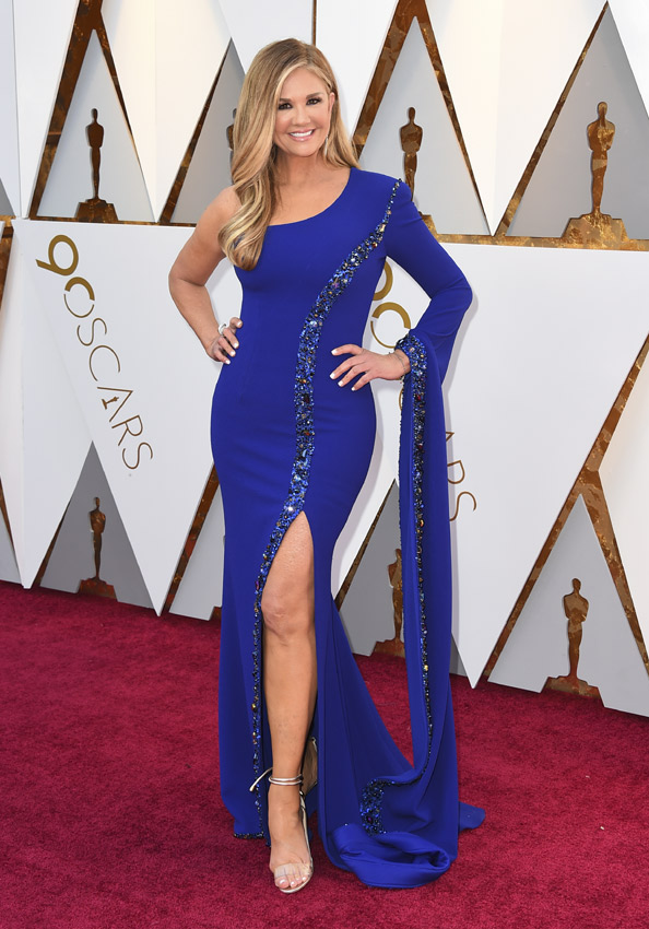 Nancy O'Dell en los Oscars 2018