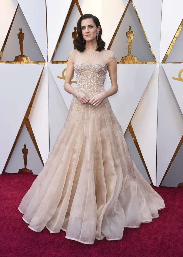 Allison Williams en los Oscars 2018