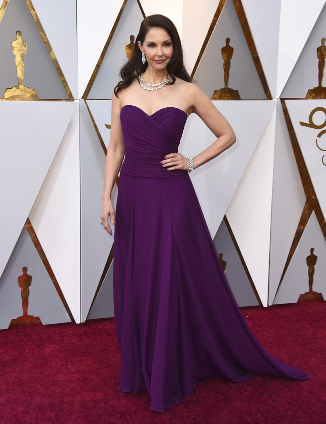 Ashley Judd en los Oscars 2018
