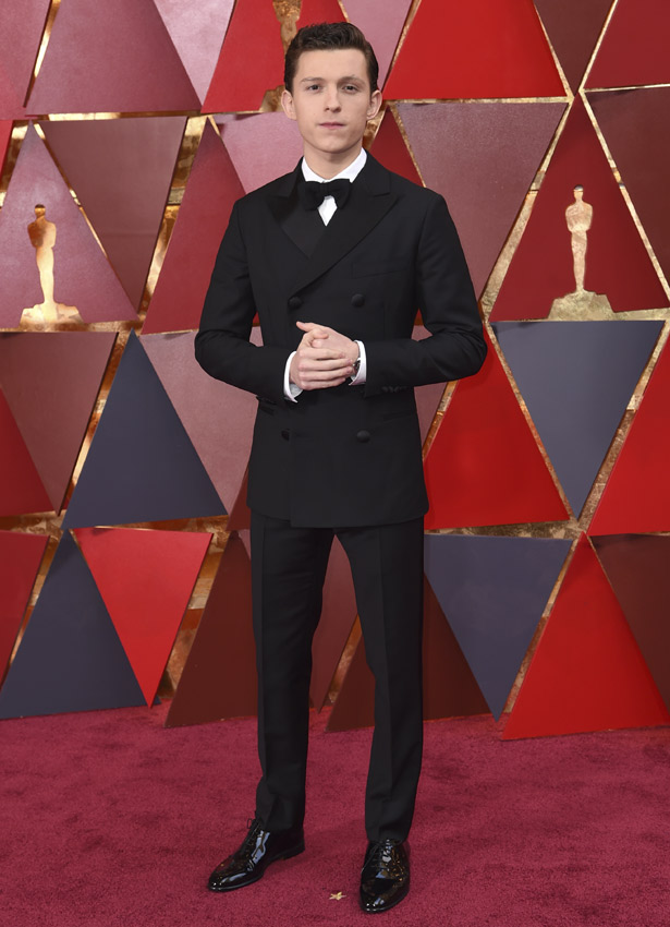 Tom Holland en los Oscars 2018