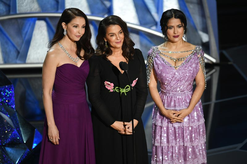 Ashley Judd, Annabelle Sciorra y Salma Hayek